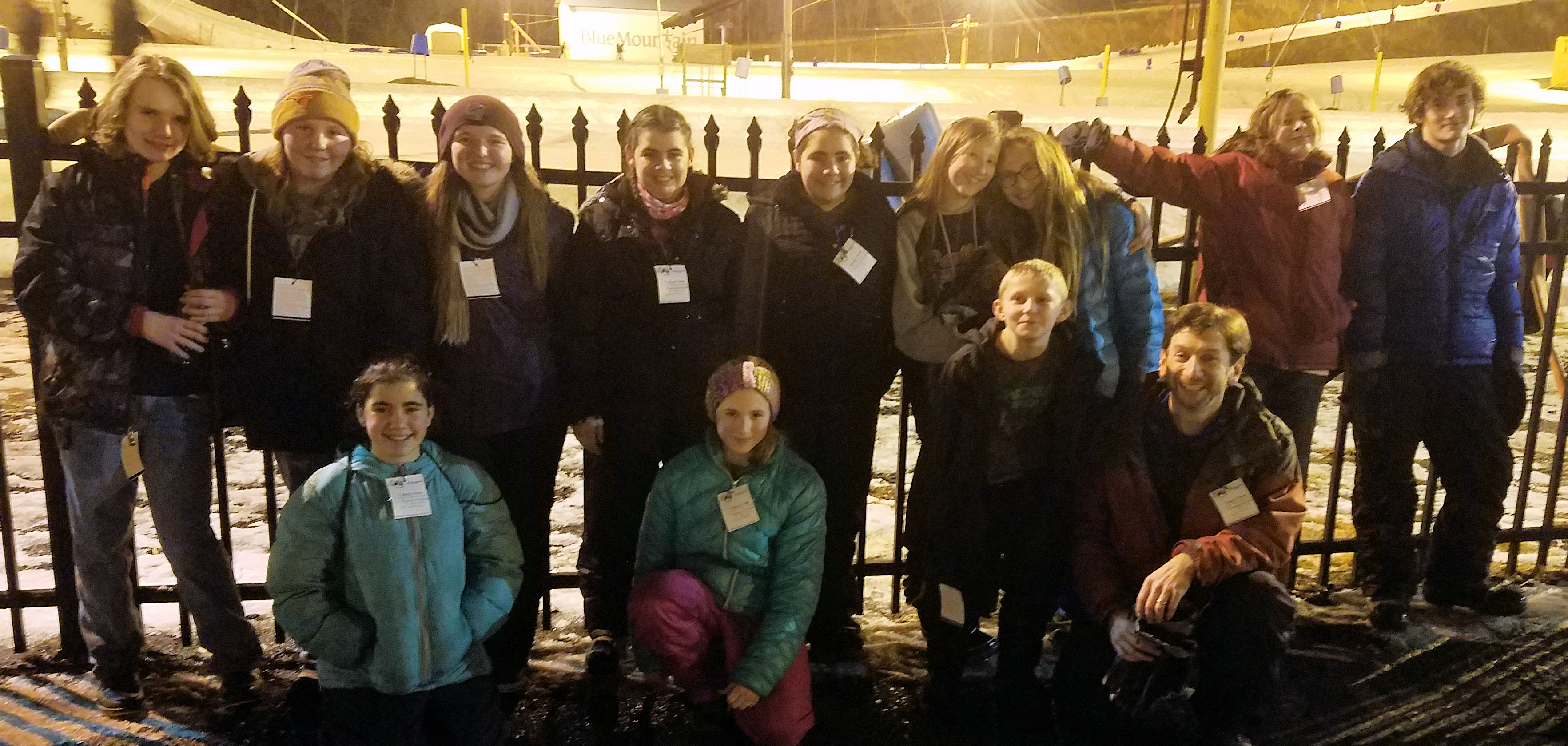Snow Tubing Youth Group